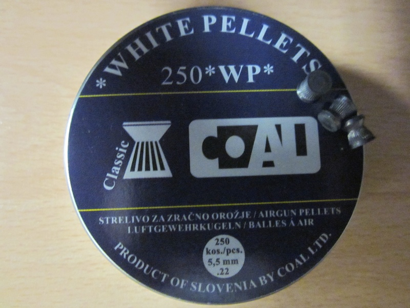 "Test Plombs COAL ""White Pellets Classic"" sur HW 57 Cal.5,5  7,5 Joules Img_0719"
