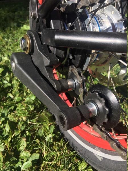 Réalisation bob60: Alfine 11 DI2 avec pneus BigApple sur triangle et fourche Kinetics Alfine11
