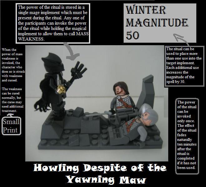 What We Know So Far - Ritual magic Winter10