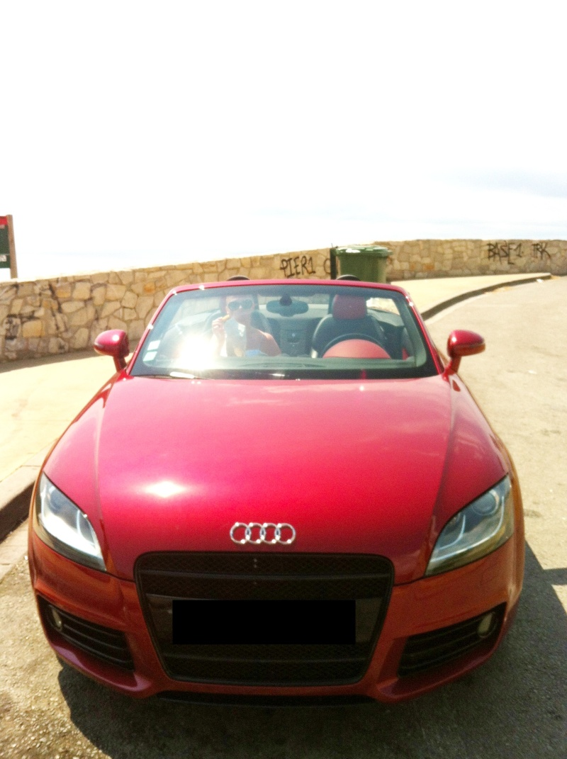 "Audi TT Roadster 3.2 V6 Quattro S-Line S-Tronic Volcano Red de ""Salyangel"" - Page 5 Img_0211"