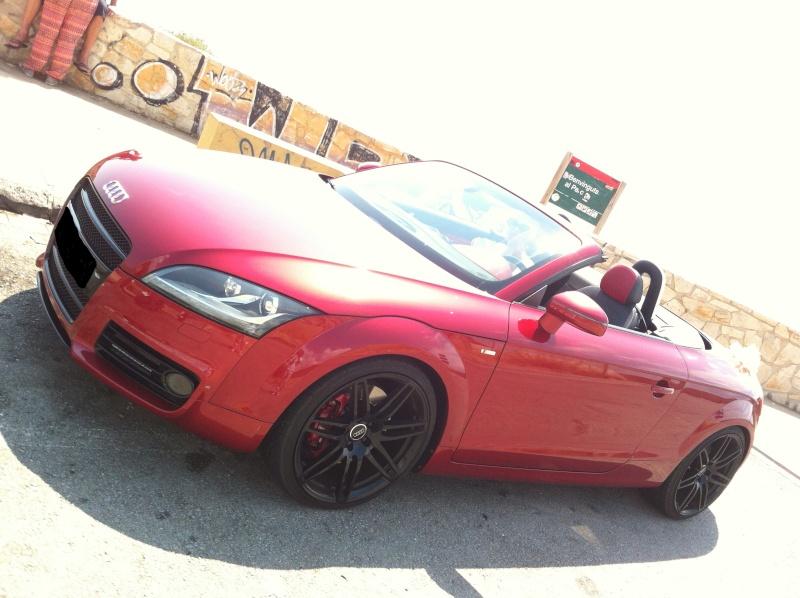 "Audi TT Roadster 3.2 V6 Quattro S-Line S-Tronic Volcano Red de ""Salyangel"" - Page 5 Img_0212"