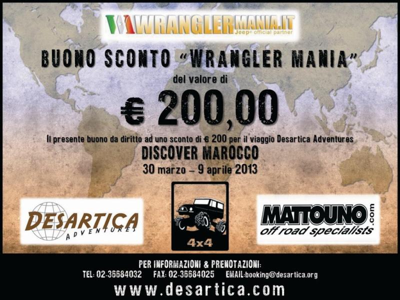 DISCOVER MAROCCO Un viaggio di scoperta! Buono_10