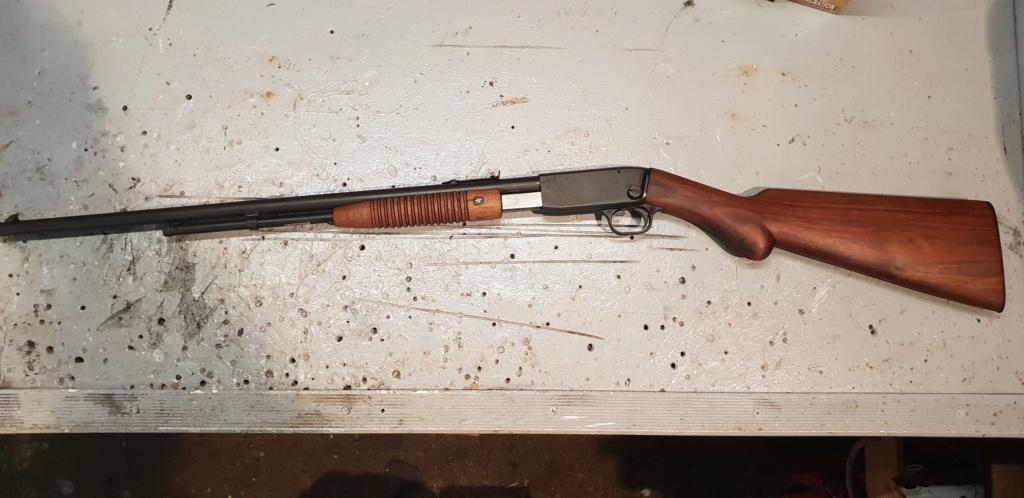 Restauration de ma FN Browning trombone 1929 20181220