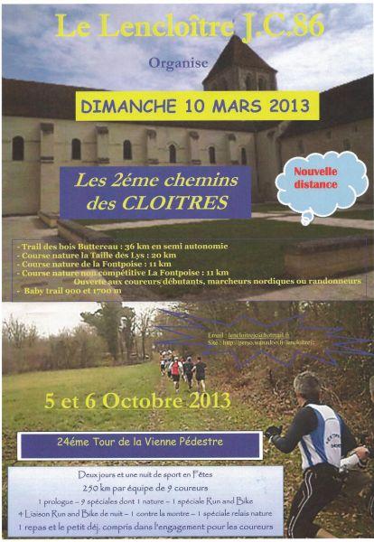 Pour les amateurs de trail et de course à pied - Page 2 Affich11