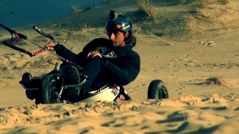 "Kite Buggy Freestyle with ""N2G"" (#1) By Lolo BSD Tof_n210"