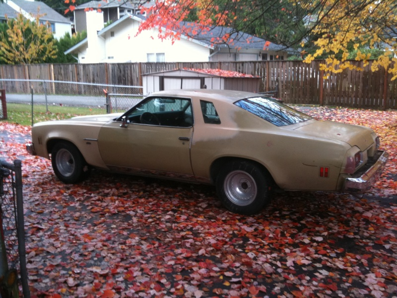 New paint is finally on my 74 Malibu Nov_3r10