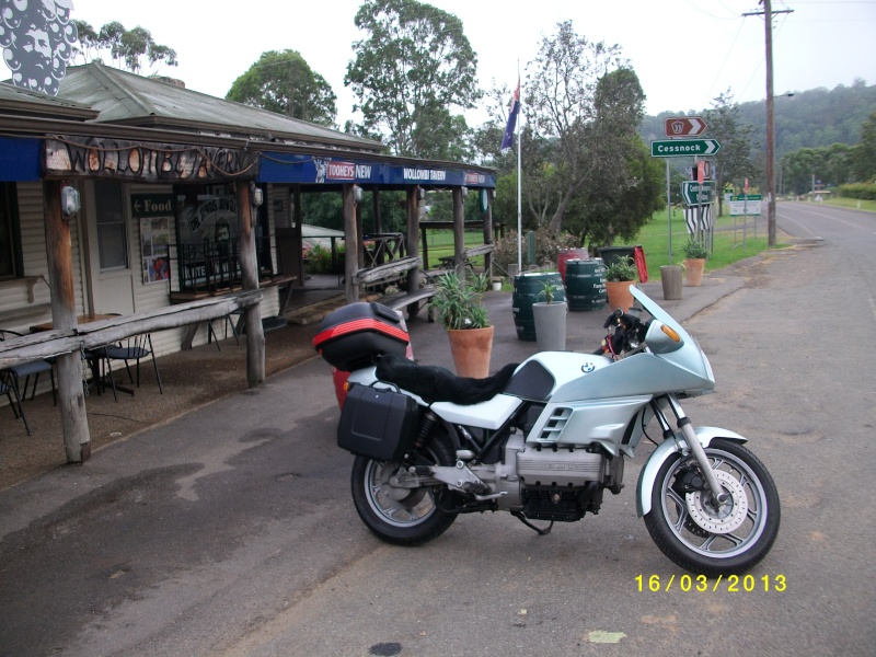 Wollombi to Wisemans March 16 or 17. Sany0221