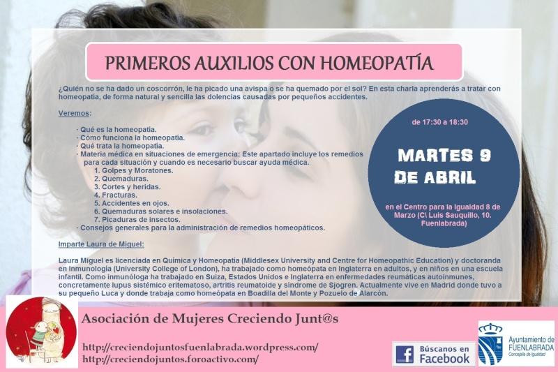 Taller de Primeros Auxilios con Homeopatía Paux10