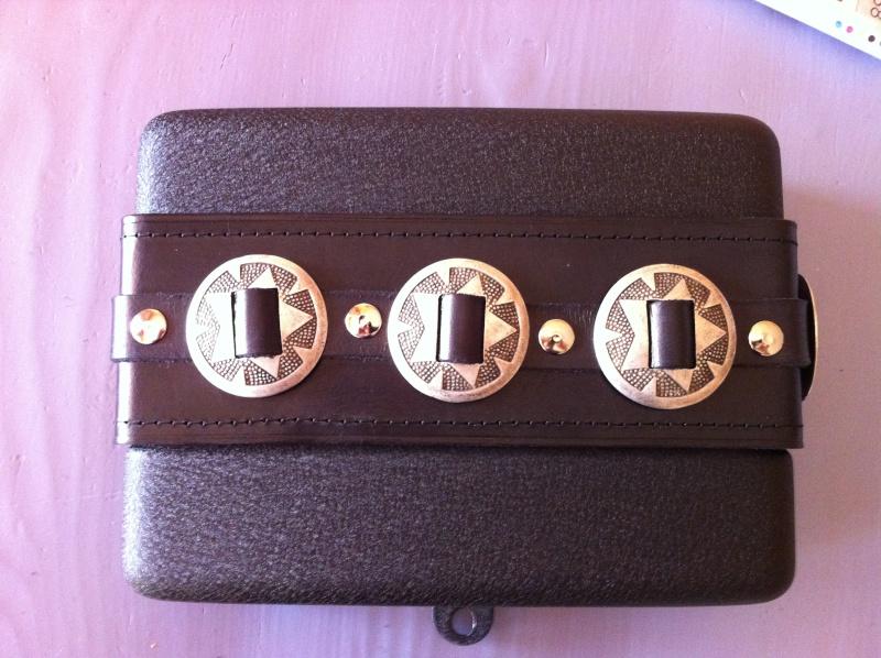 Insert en cuir pour Cache Batterie 1410