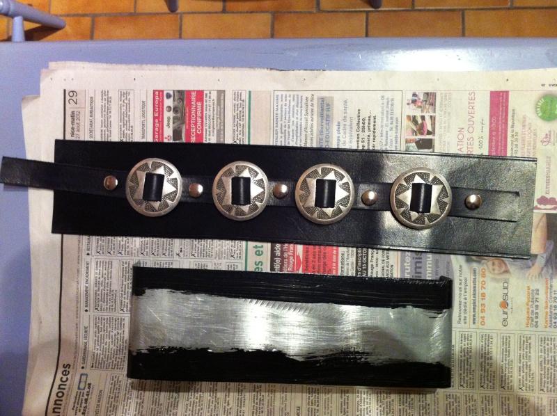 Insert en cuir pour Cache Batterie 610