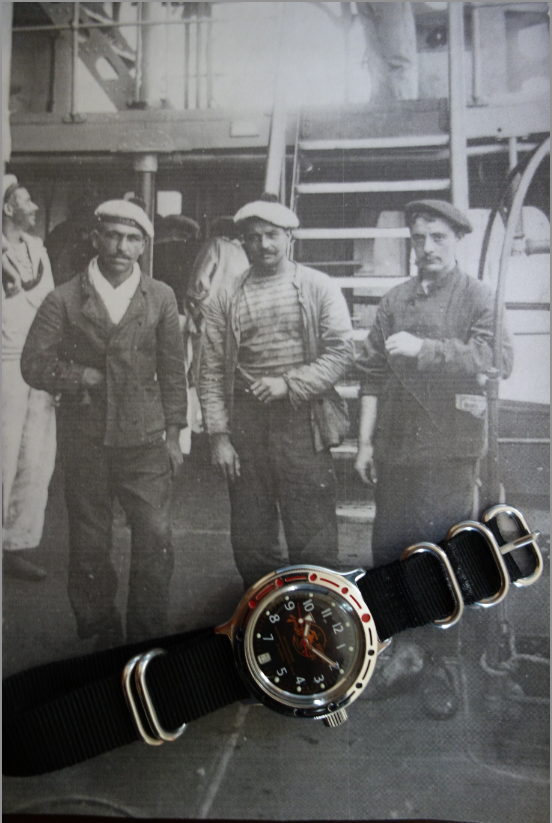 Première montre Vostok et premier message et premières impressions Captur13