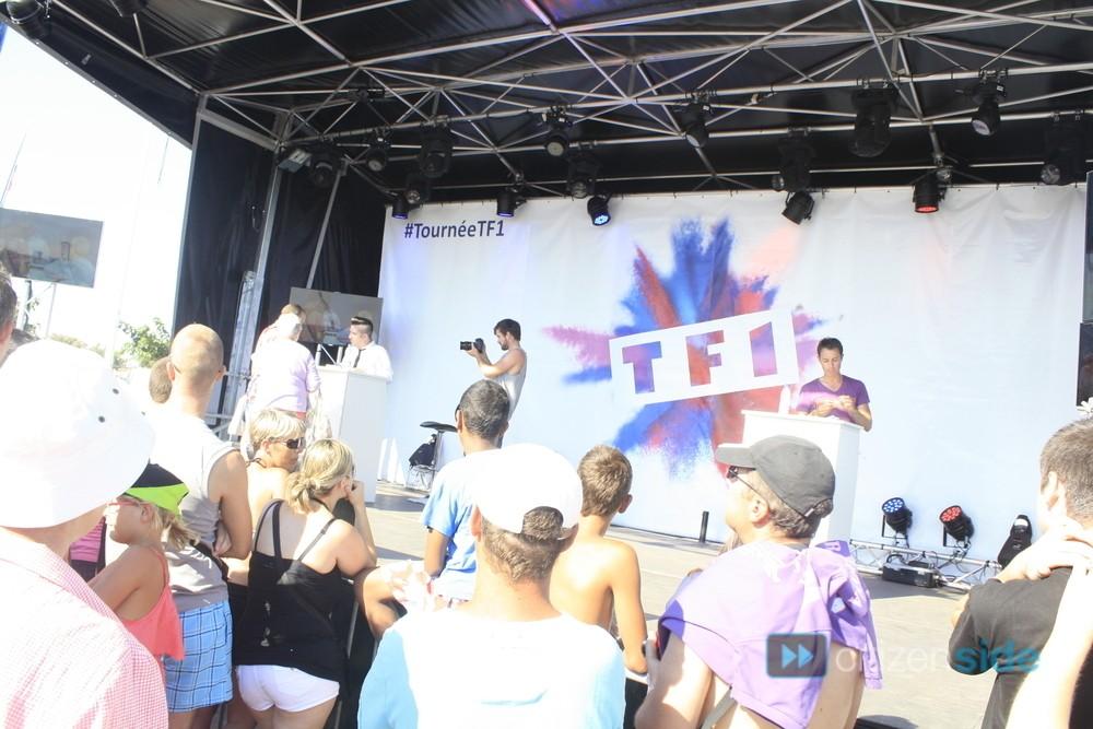 Photos de Chris et l'équipe de la Tournée TF1 à Valras 76444910