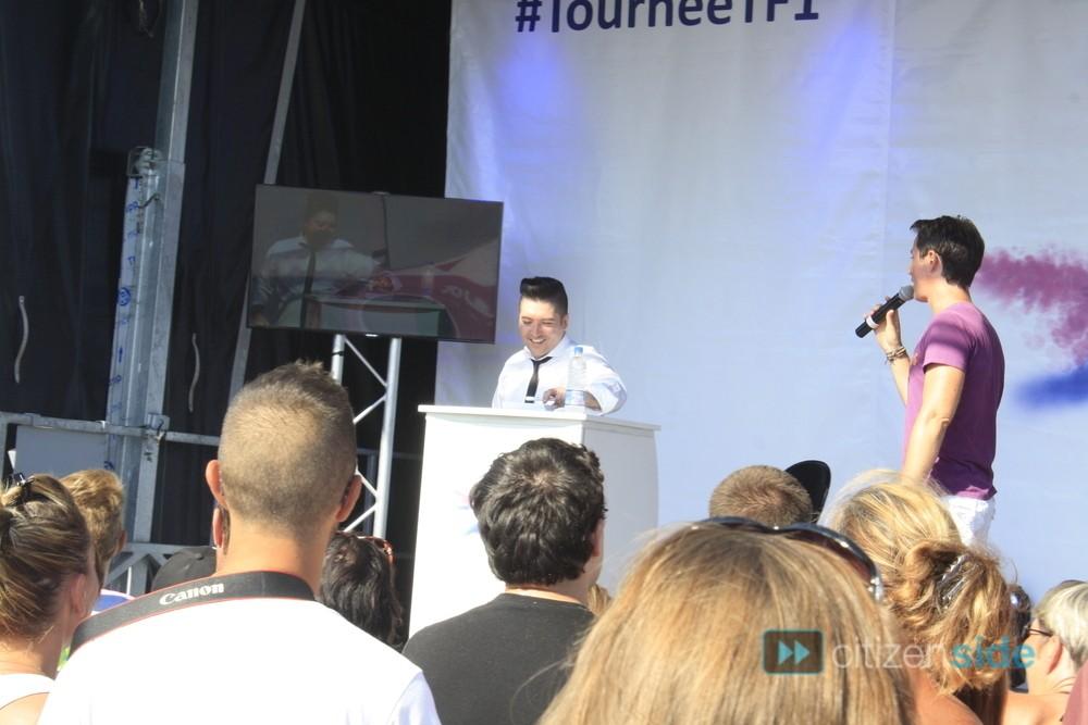 Photos de Chris et l'équipe de la Tournée TF1 à Valras 76445110