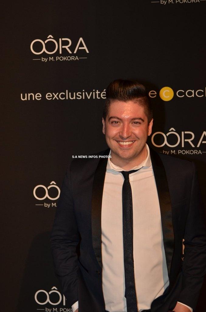Chris Marques présent à la soirée de lancement OÔRA M. Pokora au Pavillon Gabriel à Paris Image140