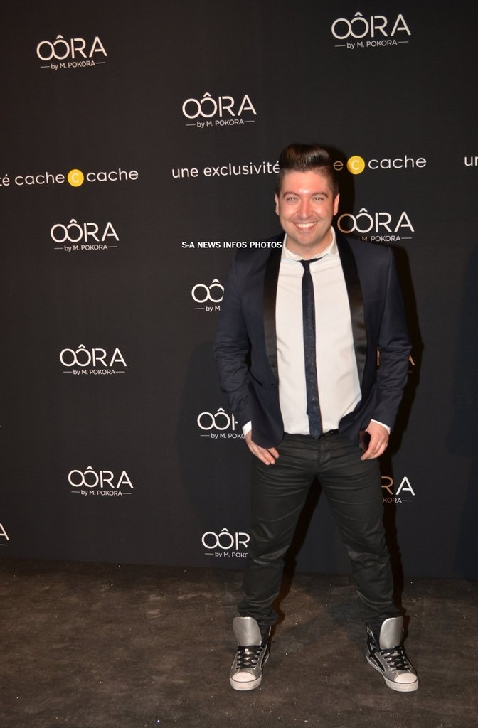 Chris Marques présent à la soirée de lancement OÔRA M. Pokora au Pavillon Gabriel à Paris Image141