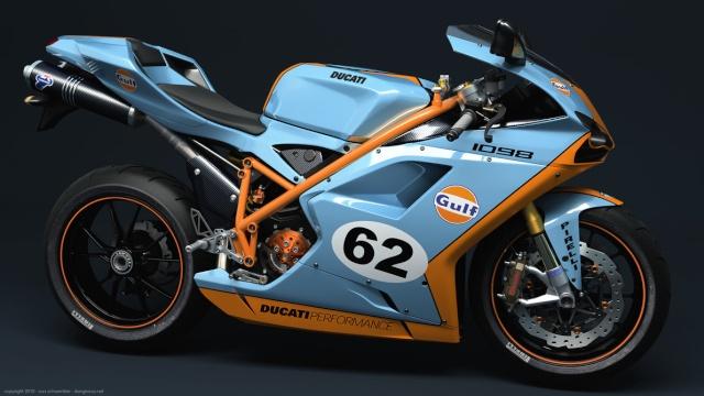Projet CR sur base Triumph Tbird 900 - Page 2 Ducati10