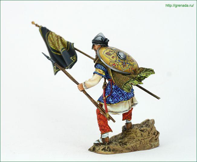 PEGASO-54-072-Muslim Warrior, VIII-XII c F38_1813