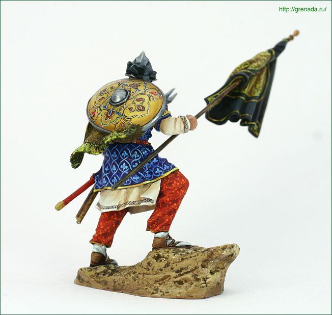PEGASO-54-072-Muslim Warrior, VIII-XII c F38_1814