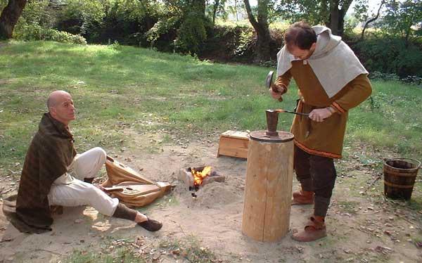 Andrea Miniatures-SV03-Norse Blacksmith par pisco - FIN ... et en  3D !! Forge10