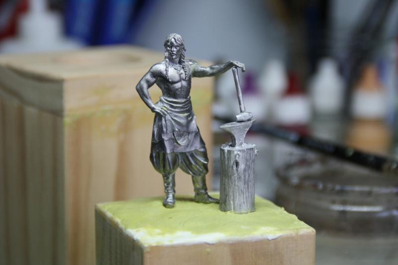 Andrea Miniatures-SV03-Norse Blacksmith par pisco - FIN ... et en  3D !! Forger13