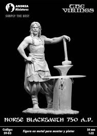 Andrea Miniatures-SV03-Norse Blacksmith Images10