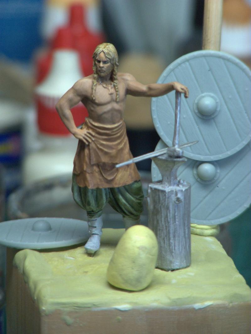 Andrea Miniatures-SV03-Norse Blacksmith par pisco - FIN ... et en  3D !! P1040211