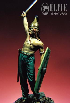 ELITE MINIATURAS- RG/54.08-Celtic Warrior, 3rd. Century B.C. Rg540810