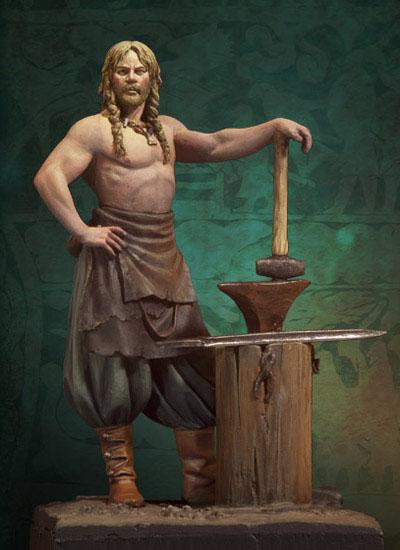 Andrea Miniatures-SV03-Norse Blacksmith par pisco - FIN ... et en  3D !! Sv-03-10