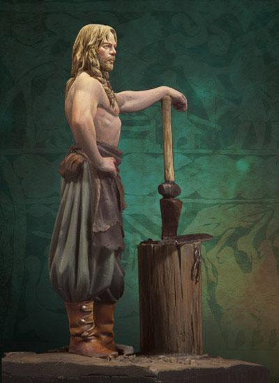 Andrea Miniatures-SV03-Norse Blacksmith par pisco - FIN ... et en  3D !! Sv-03-11