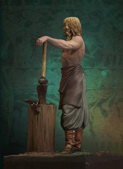 Andrea Miniatures-SV03-Norse Blacksmith par pisco - FIN ... et en  3D !! Sv-03-13