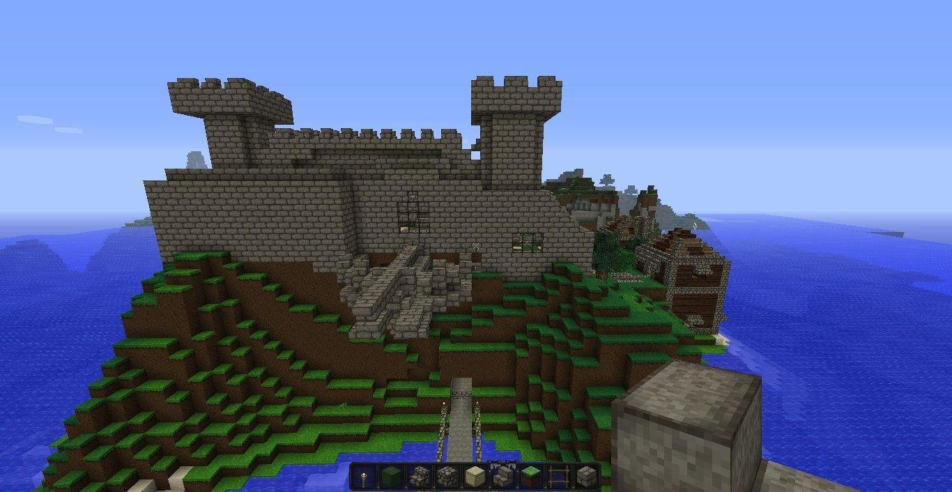 Minecraft Build: Province Of Annurel; Xenon Castle 2013-012