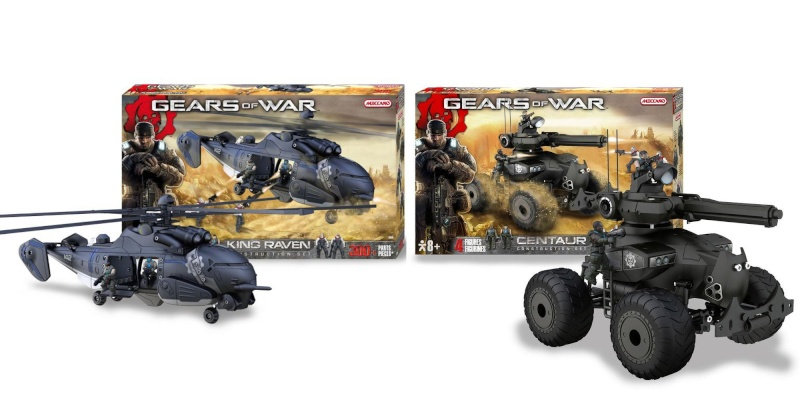 Meccano Gears of War Pack10