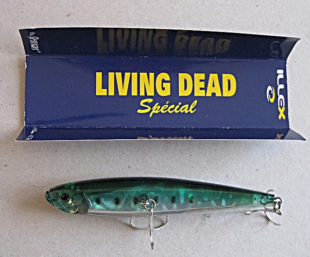 Annonce poissons nageurs Illex / Jackall Bros Living10