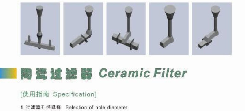 Filter  Ceramic Fiberglass  Recabonlizer  Nodulizer  00110