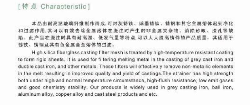 Filter  Ceramic Fiberglass  Recabonlizer  Nodulizer  00510