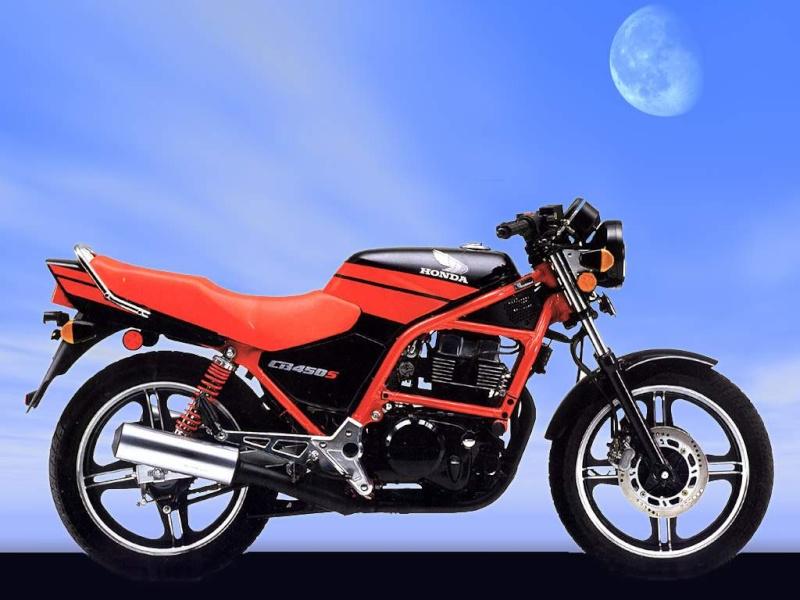 J'aime la nouvelle CB 450 S Ruleshakers ! Honda210