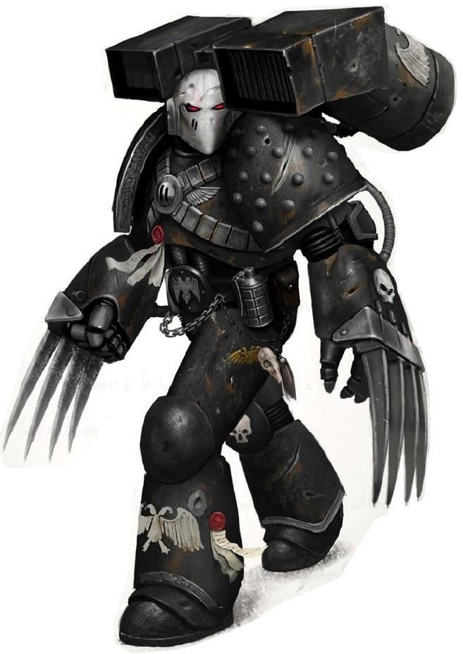 [W30K] Legiones Astartes XIX : Raven Guards 42891610