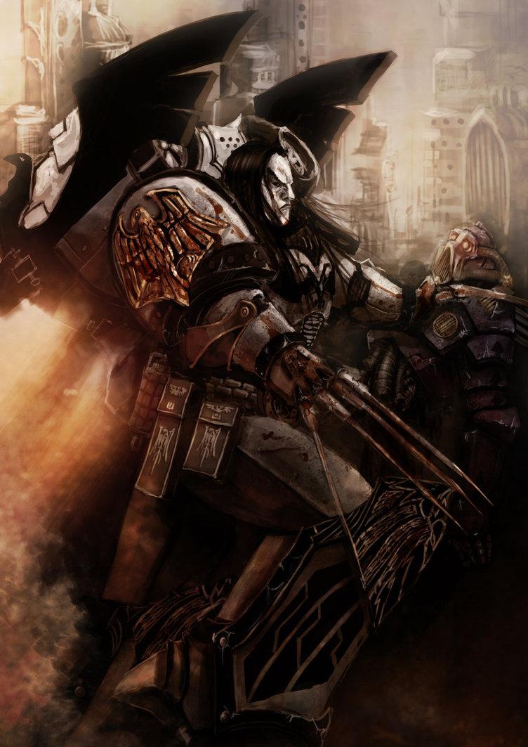 [W30K] Legiones Astartes XIX : Raven Guards Corax_10