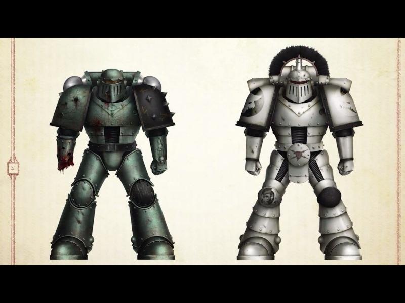 [W30K] Legiones Astartes XVI : Luna Wolves / Sons of Horus Forge_11