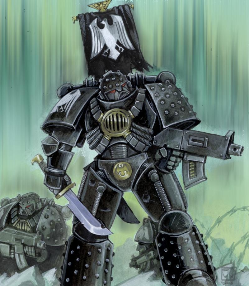 [W30K] Legiones Astartes XIX : Raven Guards Raveng10