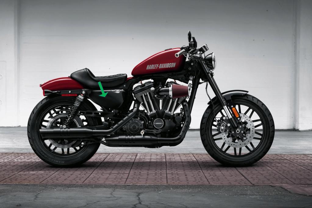 Flancs carénage Harley origine 1200 Sportster (la paire) Carena10