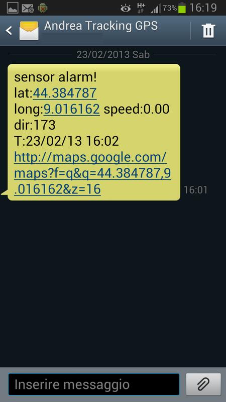 Localizzatore GPS antifurto Screen11