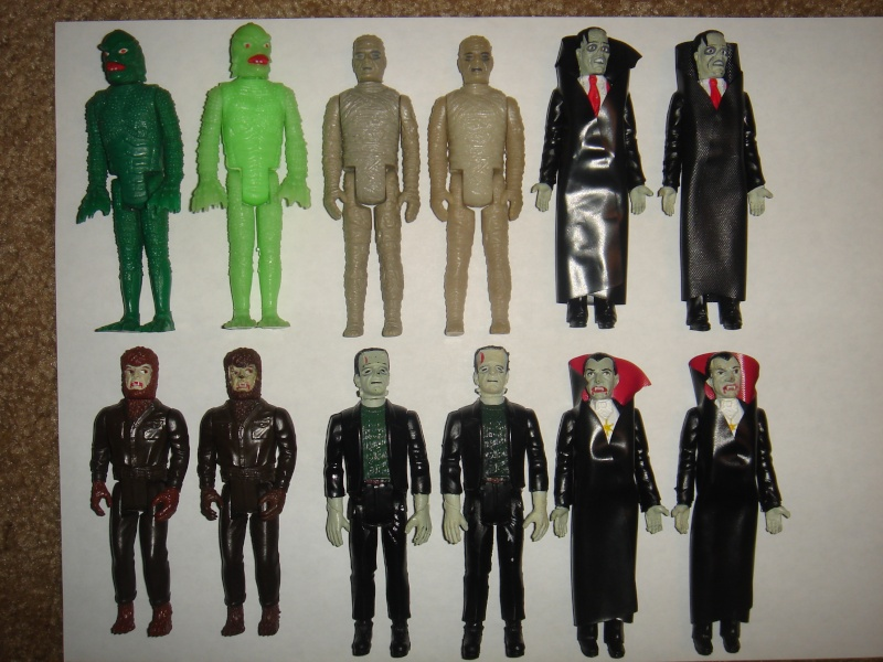 Does anyone else collect Remco Universal Monsters ? Dsc05110