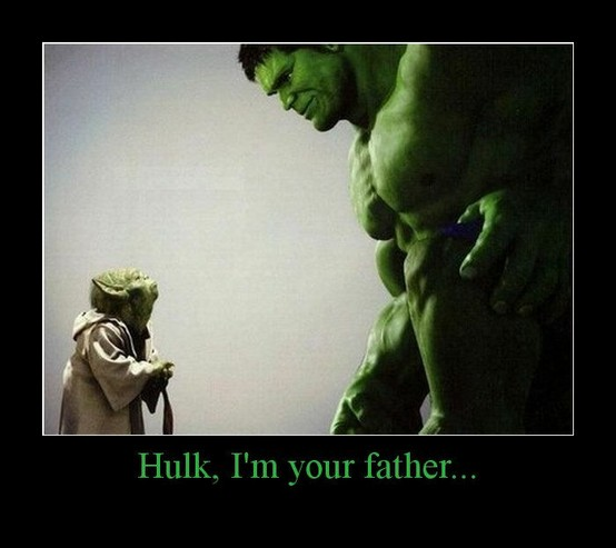Star Wars - The Cool Weird Freaky Creepy Side of The Force Hulk-i10