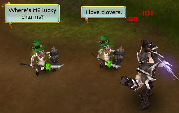 Des Leprechoblins dans Arcane Legends  Lep111