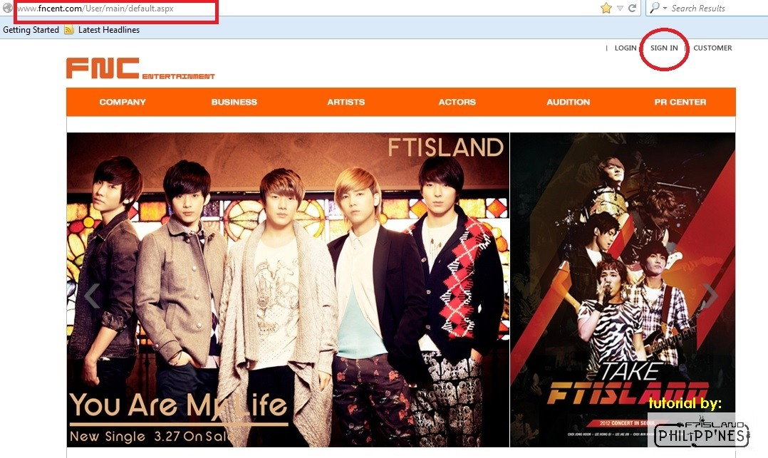 ◆ FTISLAND fan club PRIMADONNA Recruitment Information / How to Join ver.2013 0110