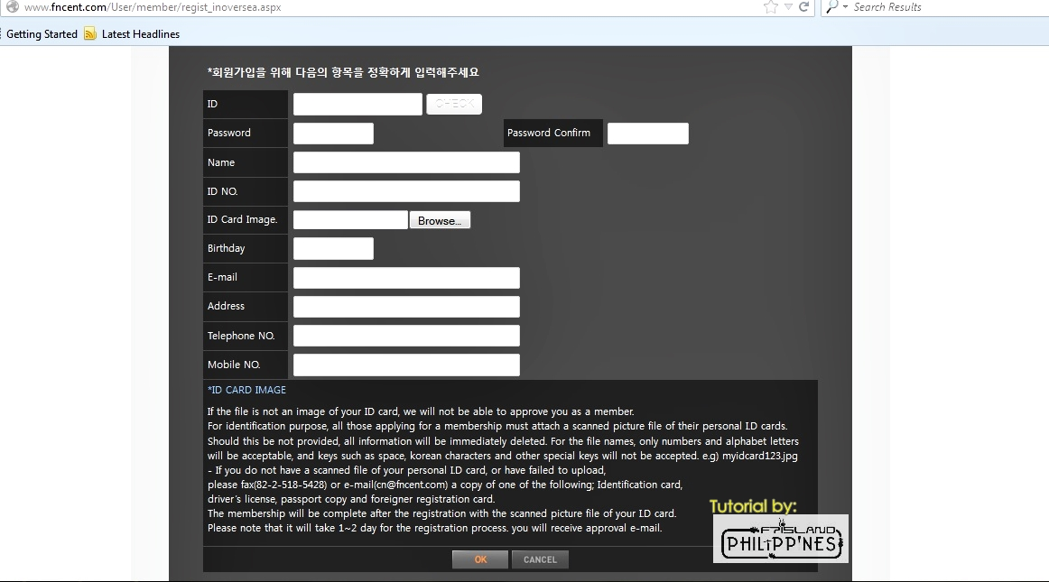 ◆ FTISLAND fan club PRIMADONNA Recruitment Information / How to Join ver.2013 0310
