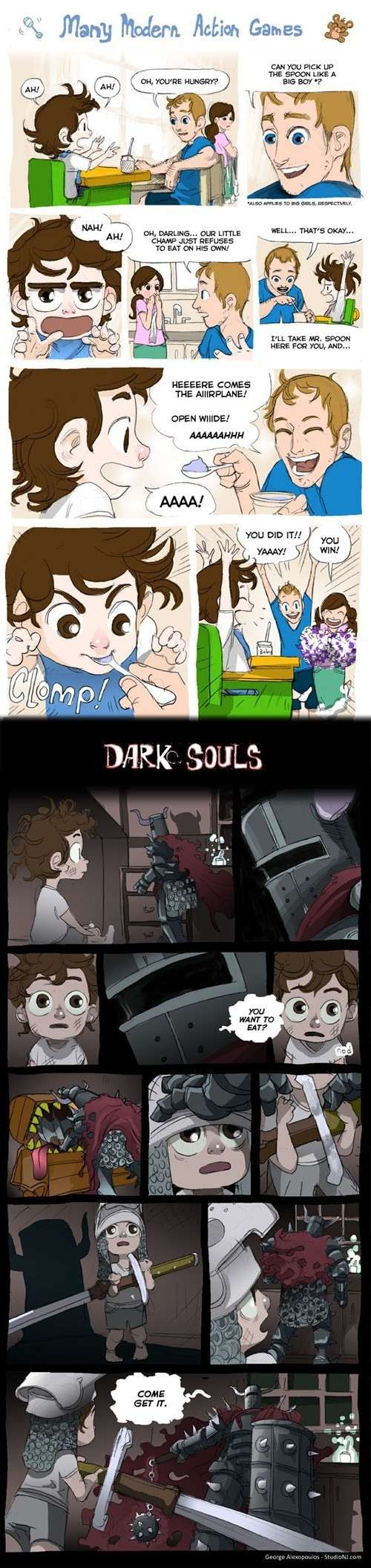 Dark souls Reaction pics / Memes / Random Stuff - Page 6 Ha307f10