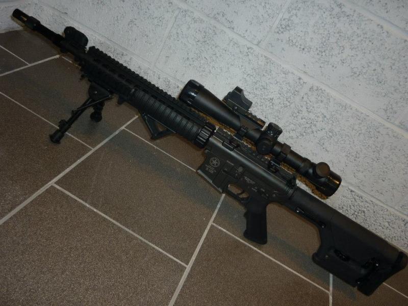 [Vente] Custom contre-snipe M4  Contre10