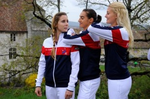 LA FED CUP 2013 : Groupe Mondial II et World Group Play-OFF - Page 9 Marion12